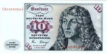 Allemagne (RFA) 10 Deutsche Mark Mark, Port. homme - Voilier - 1980