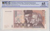 Allemagne (RFA) 1000 Deutsche Mark  - W et  J Grimm - 1991 - PCGS 65 OPQ