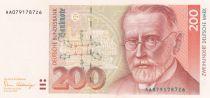 Allemagne (RFA) 200 D. Mark, Paul Ehrlich (1854-1915) - 1989 - P.42 - p.Neuf