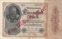Allemagne 1 000 000 000 Mark / 1000 Mark 1922 - J. Herz