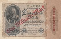 Allemagne 1 000 000 000 Mark / 1000 Mark 1922 p113a