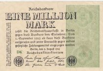 Allemagne 1 000 000 Mark 1923 p102b