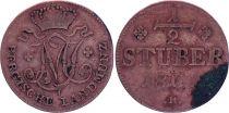 Allemagne 1/2 Stuber - Maximilian IV - Berg - 1805 R