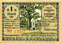 Allemagne 1 Mark, Lutzhöft - notgeld 01-07-1920 - NEUF
