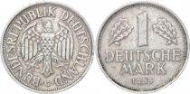 Allemagne 1 Mark Aigle Impérial - 1955 G