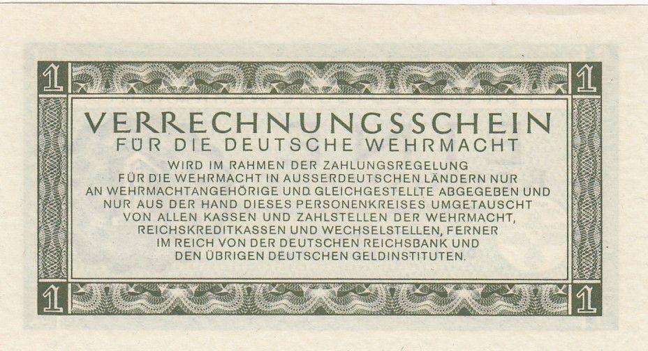 Allemagne 1 Reichsmark - 1944 - P.M.38 - Neuf