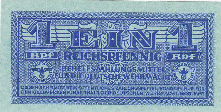 Allemagne 1 Reichspfennig- 1944 - P.M.32 - Neuf
