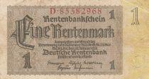 Allemagne 1 Rentenmark 1937 p173b