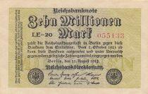 Allemagne 10 000 000 Mark 1923 - Série LE-20