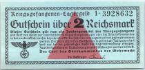 Allemagne 10 Reichmark , Camp de Prisonniers Réf Rosenberg 521