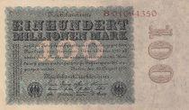 Allemagne 100 000 000 Mark 1923 p107a
