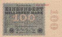 Allemagne 100 000 000 Mark 1923 p107b