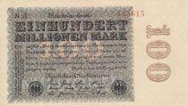 Allemagne 100 000 000 Mark 1923 p107c