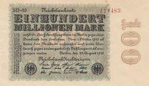 Allemagne 100 000 000 Mark 1923 p107d