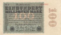 Allemagne 100 000 000 Mark 1923 p107e