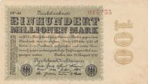 Allemagne 100 000 000 Mark 1923 p107f