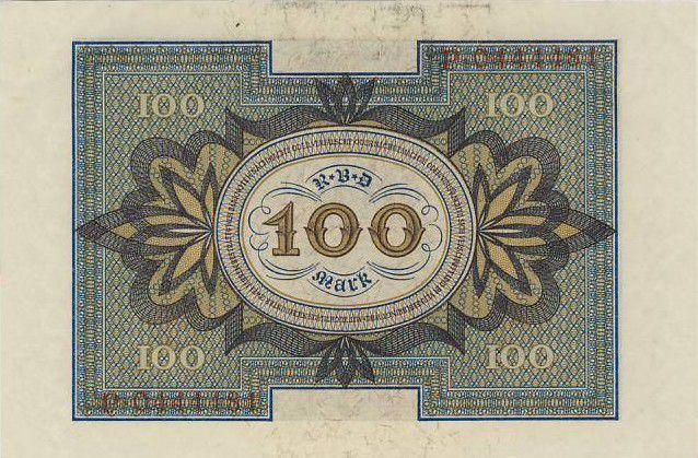 Allemagne 100 Mark Cavalier de Bamberg