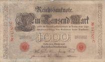 Allemagne 1000 Mark numérotation rouge - 1903 - 6 chiffres - TB+ - P.23
