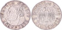 Allemagne 2 Reichmark, Martin Luther - 1933 A