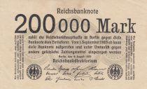 Allemagne 200 000 Mark 1923 p100