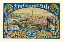 Allemagne 25 Pfennig, Freiburg in Schlesien - notgeld 1921 - NEUF