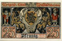 Allemagne 25 Pfennig, Neustadt - notgeld 1920 - NEUF