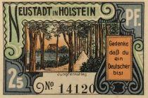 Allemagne 25 Pfennig, Neustadt i. Holstein - notgeld - NEUF