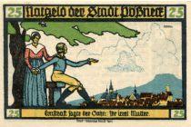 Allemagne 25 Pfennig, Pößneck - notgeld 31-07-1921 - NEUF