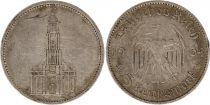 Allemagne 5 Mark 1934A - Aigle, Eglise de Postdam, argent