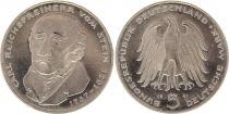 Allemagne 5 Mark 1981G - Aigle, Carl Vom Stein