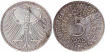 Allemagne 5 Mark Aigle Impérial - 1969