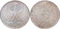 Allemagne 5 Mark Aigle Impérial - 1971
