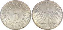 Allemagne 5 Mark Aigle Impérial - 1973