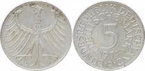 Allemagne 5 Mark Aigle Impérial - 1974 D