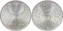 Allemagne 5 Mark Aigle Impérial - 1974 G