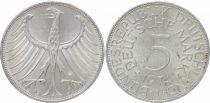 Allemagne 5 Mark Aigle Impérial - 1974 J