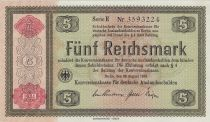 Allemagne 5 Reichsmark - 1934 Série E - P.207 - Neuf