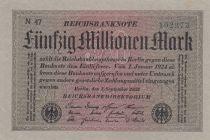Allemagne 50 000 000 Mark 1923 p109a