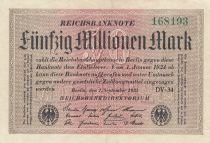 Allemagne 50 000 000 Mark 1923 p109b