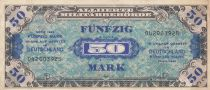 Allemagne 50 Mark Impr. américaine - 1944 9 digit 042003925 - avec F