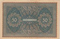 Allemagne 50 Mark Portrait de femme - 24-06-1919 - Reihe 3