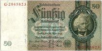 Allemagne 50 Reichsmark 1933 - Série G - TTB - P.182
