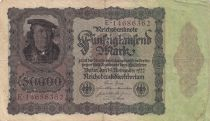 Allemagne 50000 Mark Bourgmaistre Brauweiler - 1922 Série E
