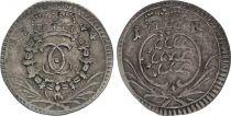 Allemagne Allemagne, Duché de Wurtemberg, Karl Eugen - 1 Kreuzer 1744 - TB+