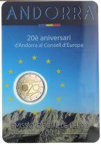 Andorra 2 Euros, European Council - 2014 Coincard