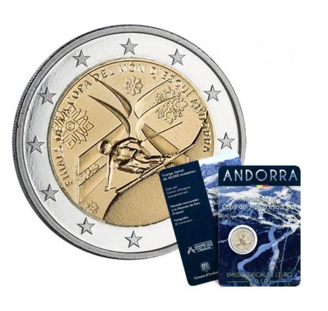 Andorra 2 Euros, Ski World cup  - 2019 Coincard