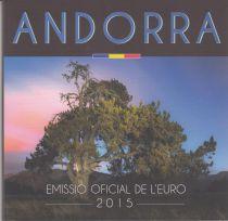 Andorra Complete serial of Euros 2015 - BU