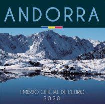 Andorra Proof set of Andorra -  8 coins BU in Euros 2020