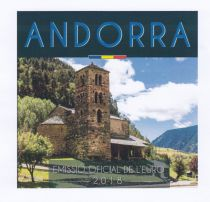 Andorra Proof set of Andorra - 8 coins in Euros 2018 - Delivery 04-12-2018