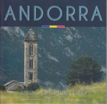 Andorra Proof set of Andorra 2016 8 coins BU in Euros 2016 - Available